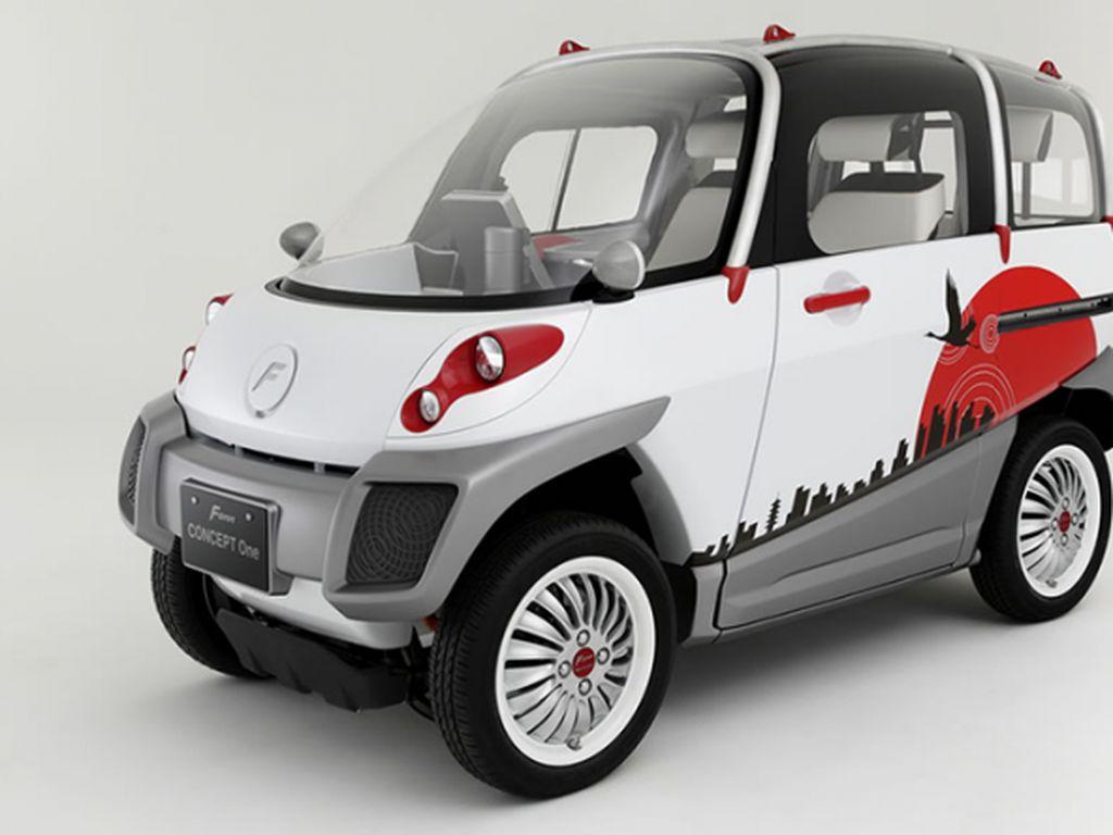 Fomm Concept One, Mobil Mungil Tahan Tsunami