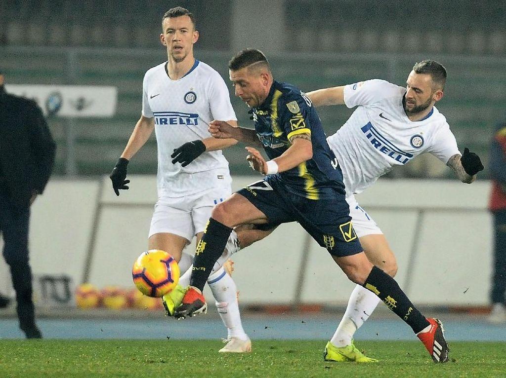 Hasil Liga Italia: Cetak Gol di Injury Time, Chievo Imbangi Inter 1-1