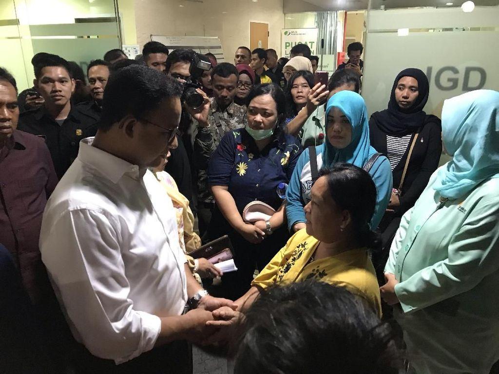 Anies: Biaya Korban Tsunami di RSUD Tarakan Ditanggung Pemprov DKI