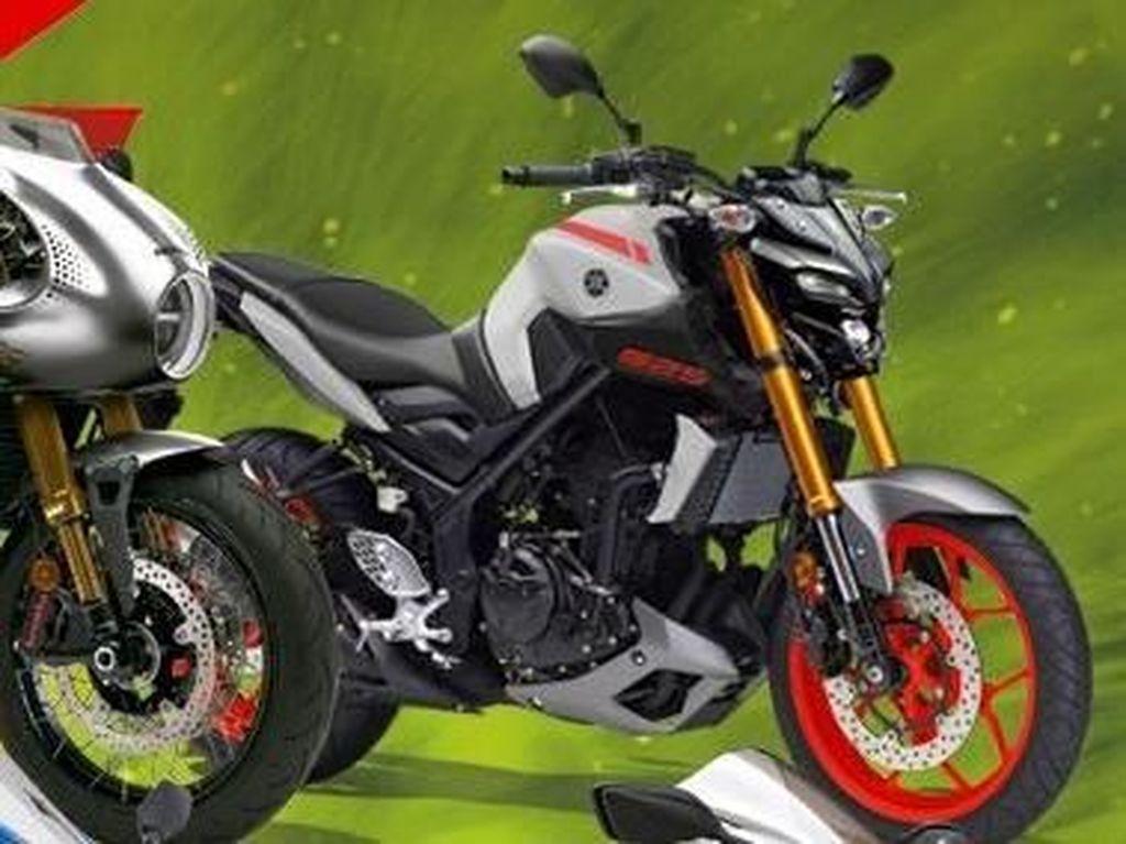 Bocor! Dipercaya Ini Tampang Yamaha MT-25 Terbaru