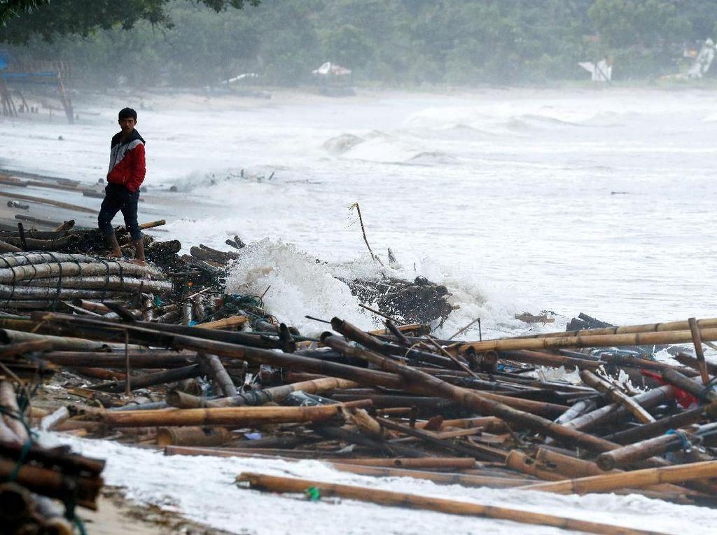 Menkominfo: 113 BTS Mati Terdampak Tsunami Selat Sunda