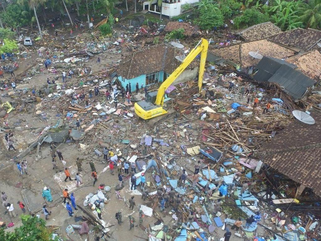 Masa Tanggap Darurat Tsunami Lampung Selatan Diperpanjang 2 Minggu