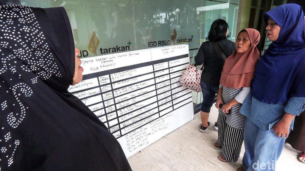 Keluarga Korban Tsunami Anyer Datangi RSUD Tarakan