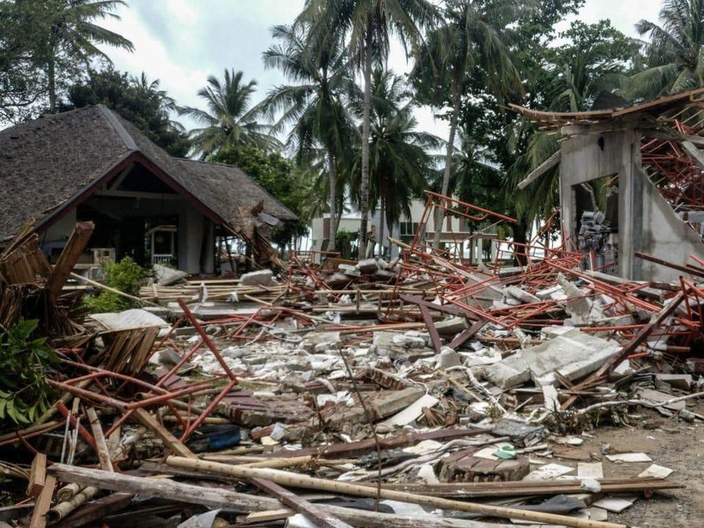 30% Bangunan di KEK Tanjung Lesung Rusak Disapu Tsunami