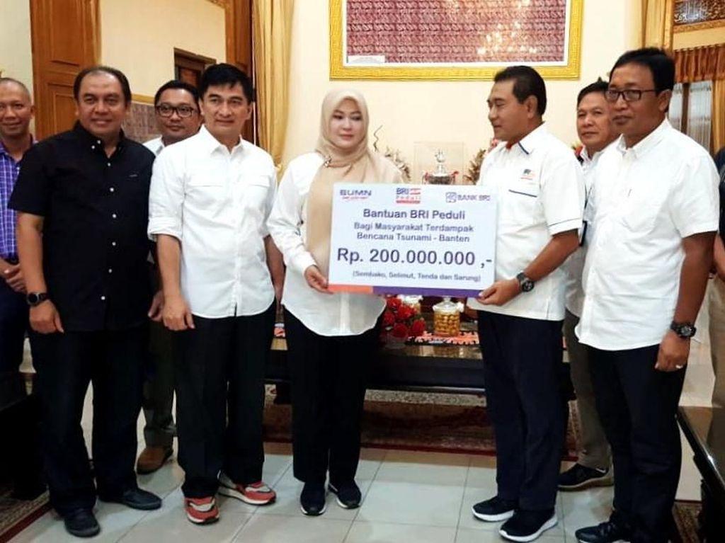 Aksi BRI Tanggap Bencana Tsunami Banten dan Lampung