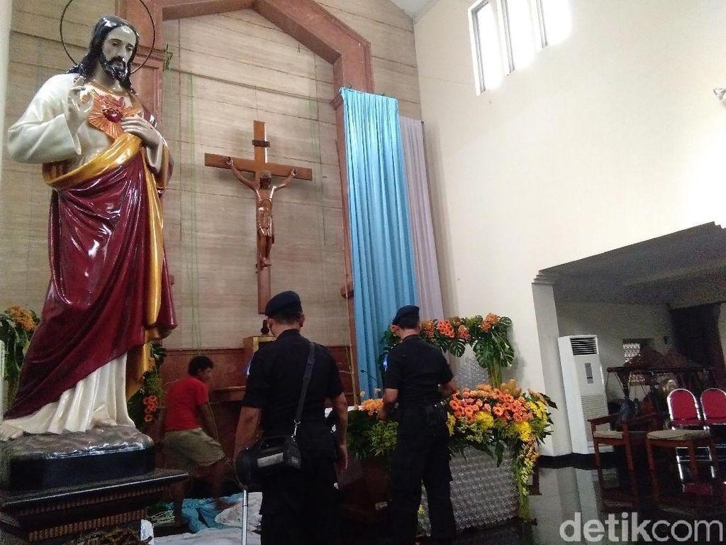 Amankan Natal, Gegana Polda DIY Sterilisasi Gereja-gereja di Yogya