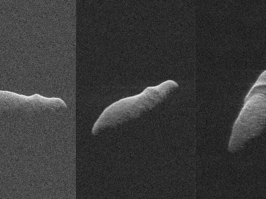 Asteroid Berbentuk Kuda Nil Terdeteksi Dekati Bumi
