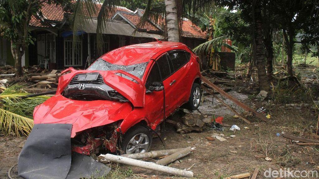 Mobil-mobil Ini Jadi Saksi Bisu Mencekamnya Tsunami Anyer