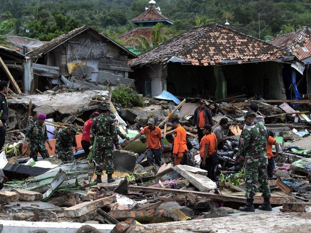 Basarnas Sisir Lagi Pantai Barat Banten dan Selatan Lampung Hari Ini