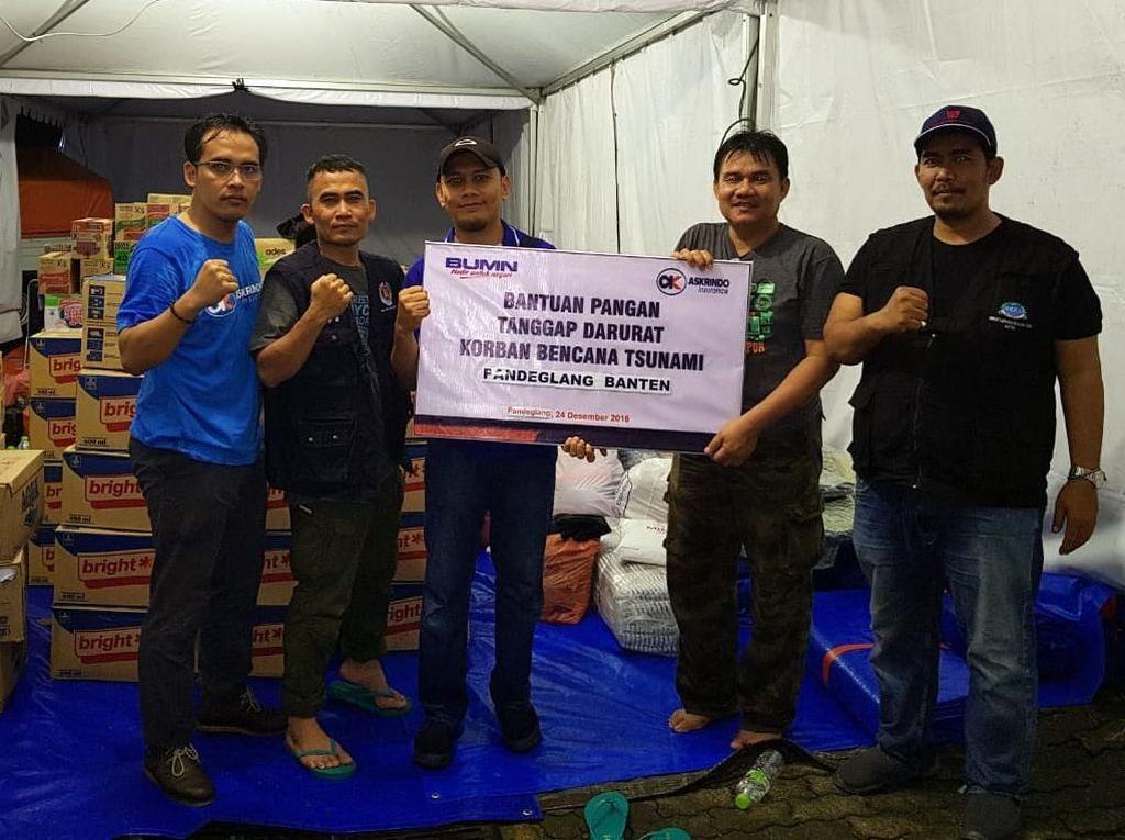 Bantuan untuk Korban Tsunami Banten dan Lampung