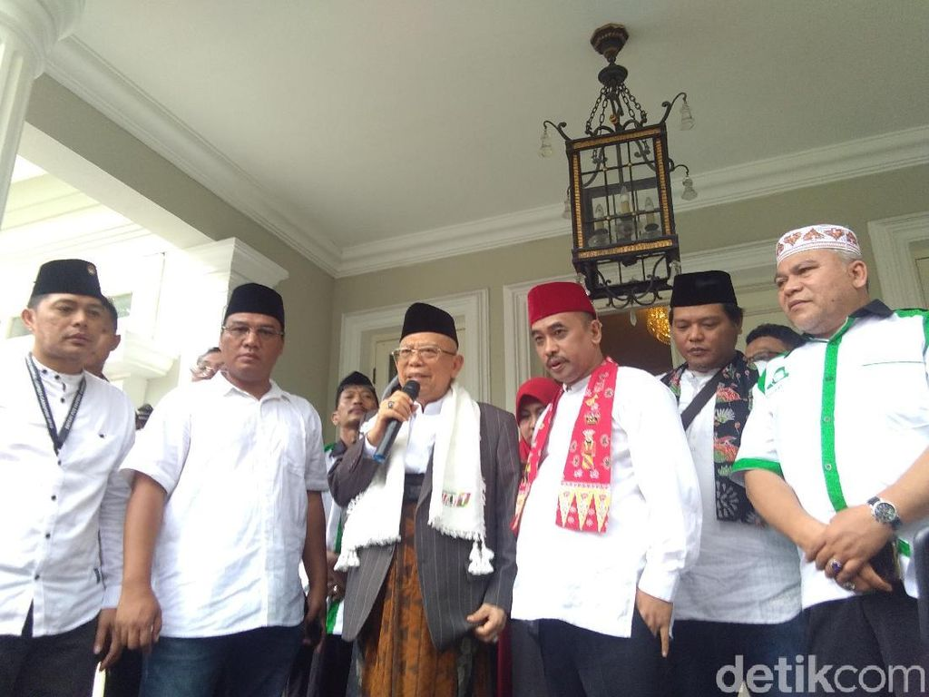Tokoh Betawi Minta Izin ke Maruf Amin untuk Bentuk Relawan