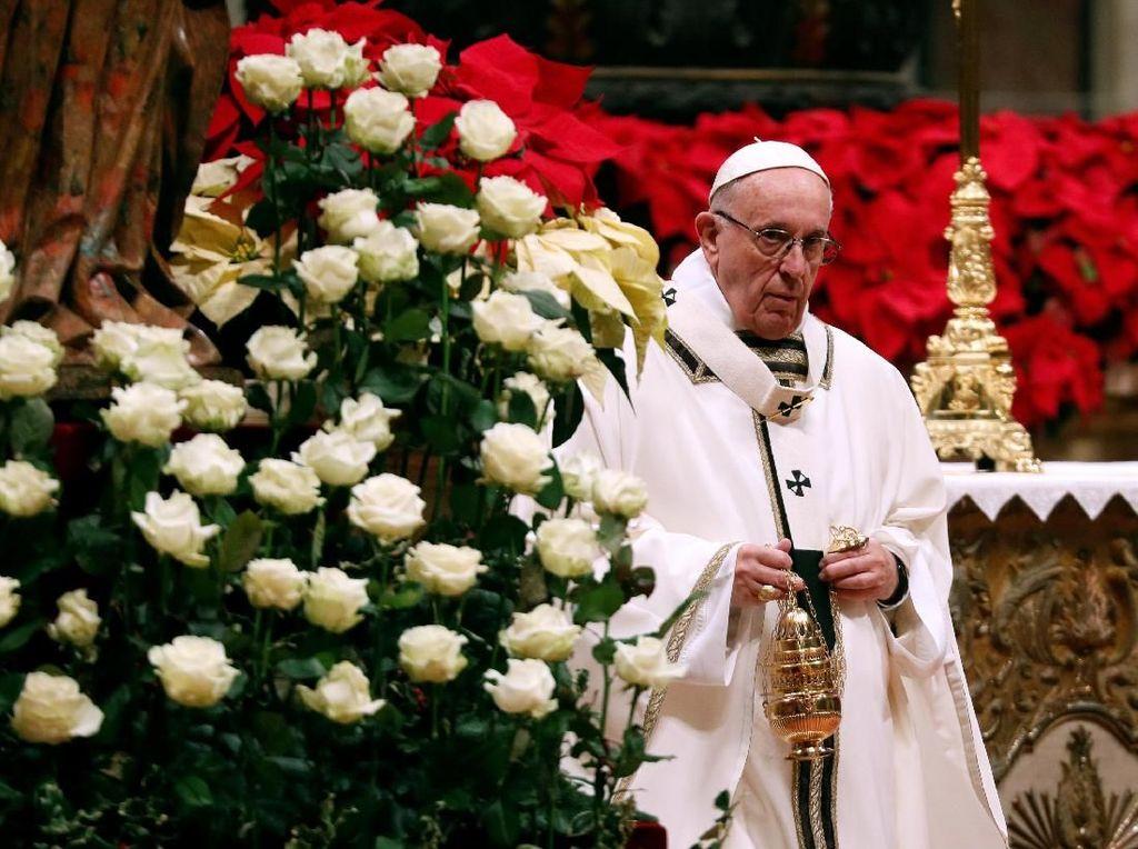 Tutup KTT Vatikan, Paus Fransiskus Serukan Perang Lawan Kekerasan Seksual