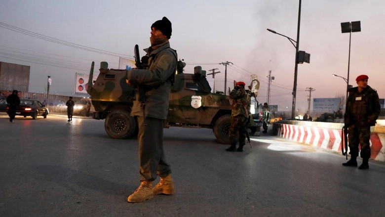 Gedung Pemerintah Afghanistan Diserang, 43 Orang Tewas