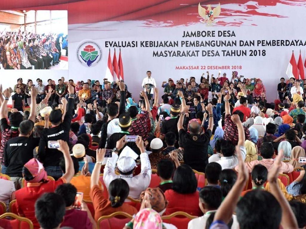 Soal Inovasi Desa, Jokowi Contohkan Desa Berpenghasilan Rp 14 M