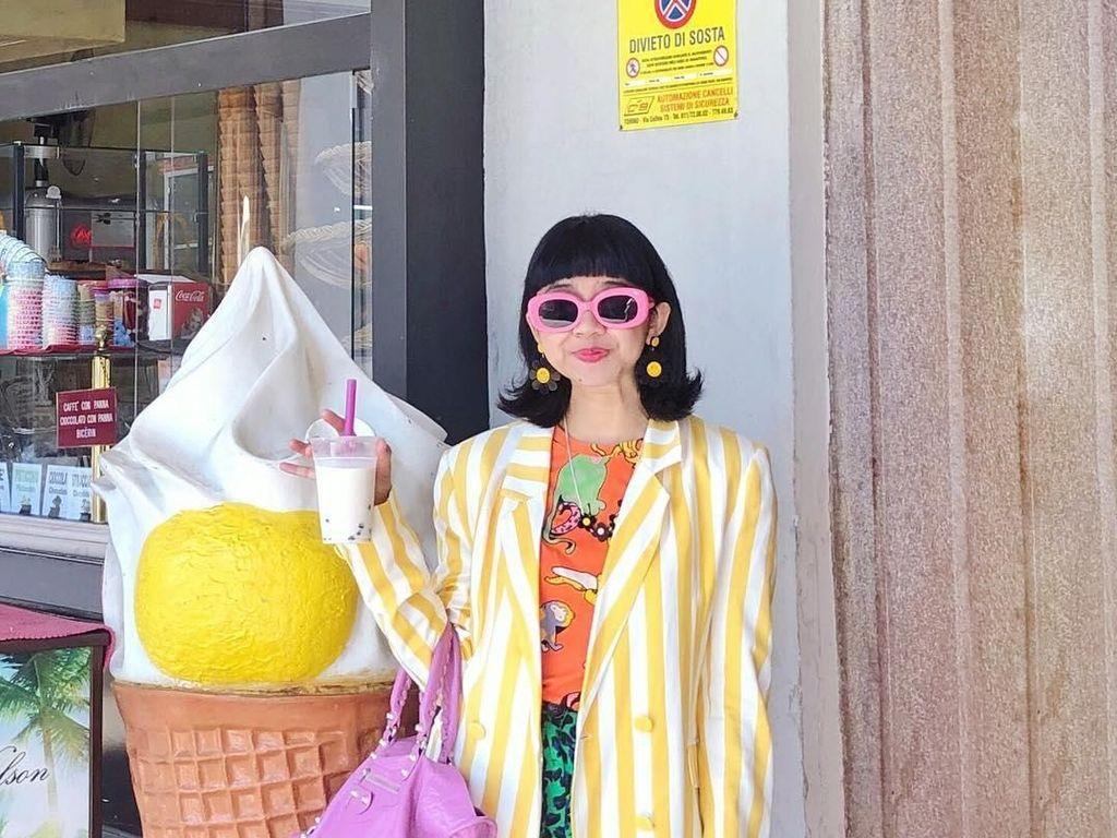 Cerita Fashion Blogger Diana Rikasari yang Hadapi Virus Corona di Swiss