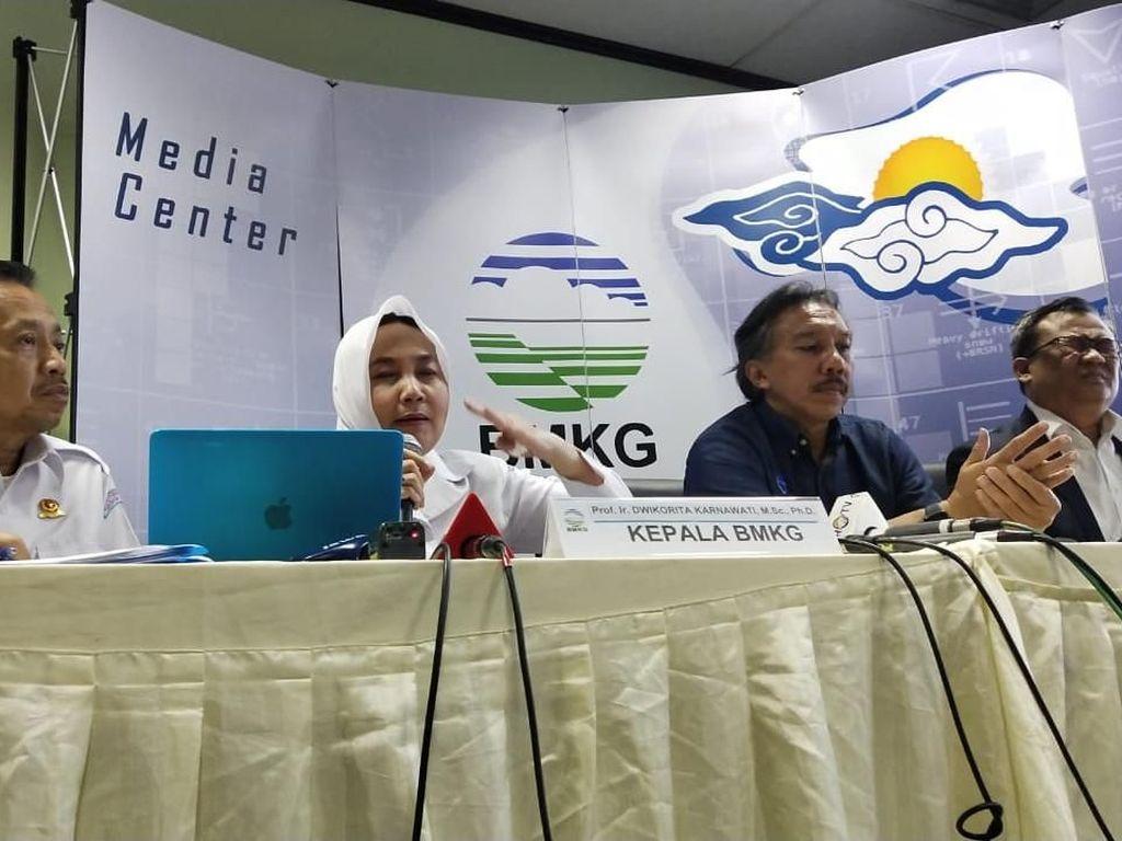 Tebing Anak Krakatau Bisa Longsor Jika Getaran Capai Kekuatan M 3,4