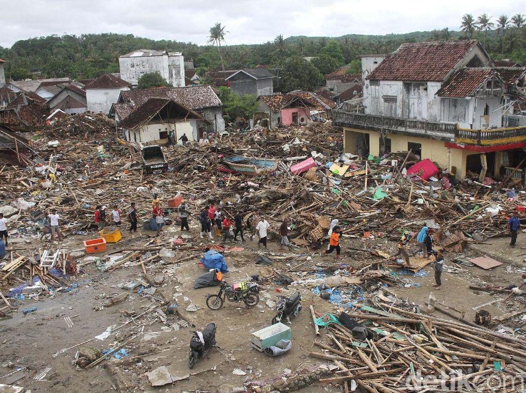 116 Korban Tsunami di Lampung Telah Teridentifikasi