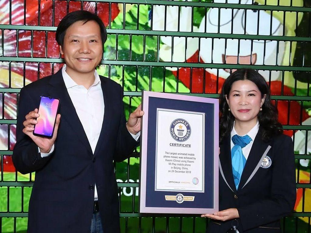 Saat Pohon Natal Xiaomi Pecahkan Rekor Dunia