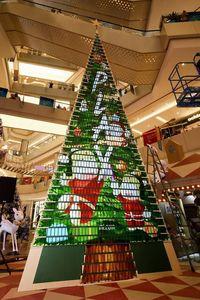 Saat 1.005 Unit Mi Play Berbentuk Pohon Natal