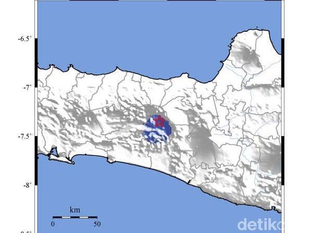 Gempa 2,6 SR Guncang Dataran Tinggi Dieng