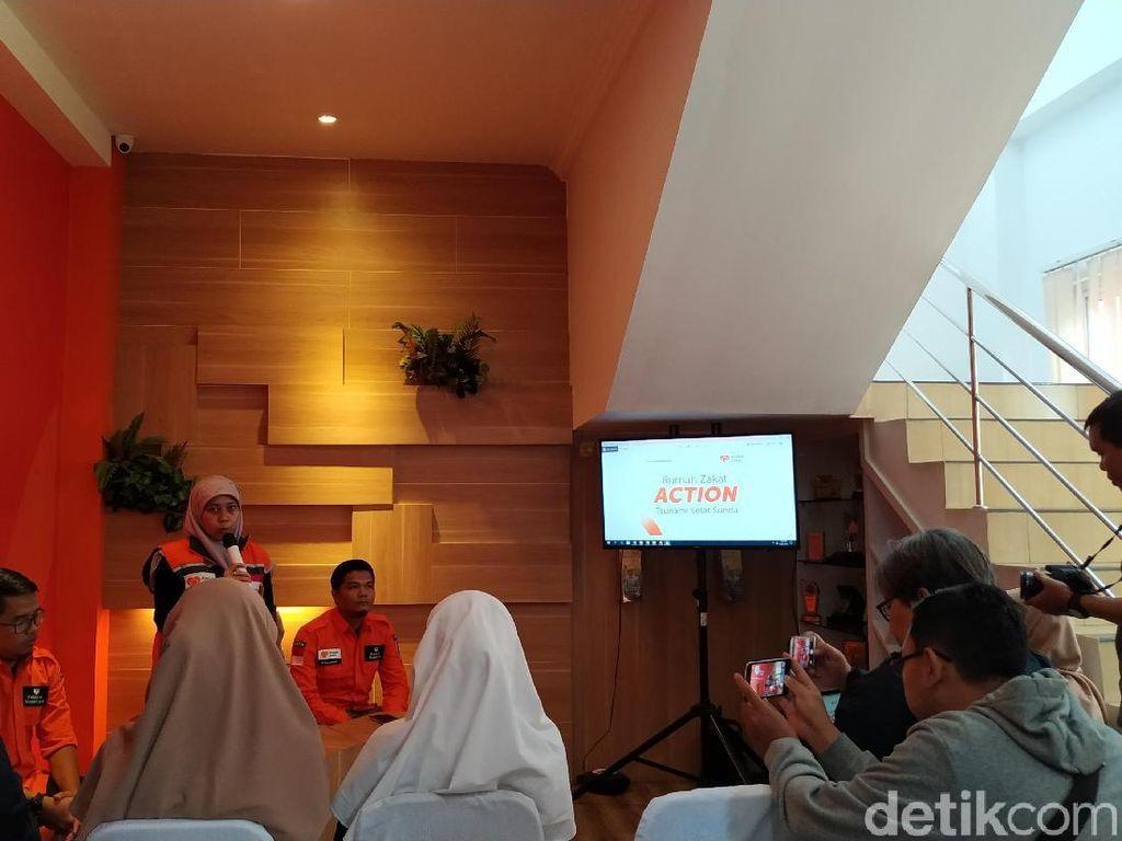 Rumah Zakat dan Pemprov Jabar Bantu Korban Tsunami Banten