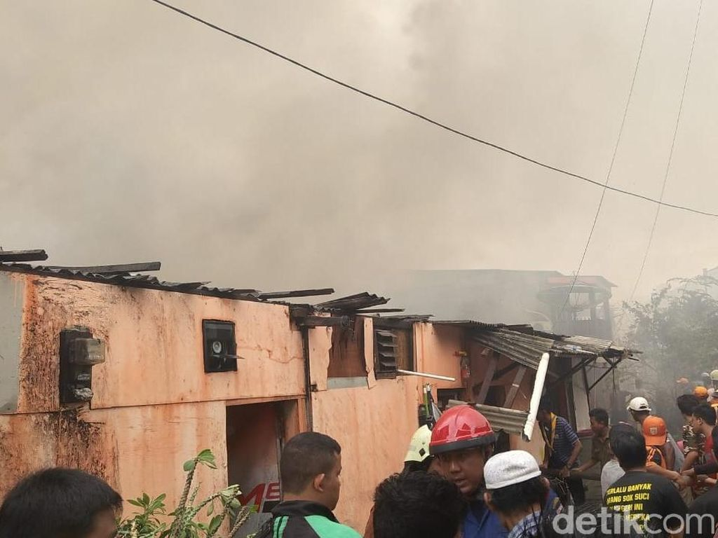 Kebakaran di Kemayoran, Damkar: Matikan Listrik Sebelum Liburan