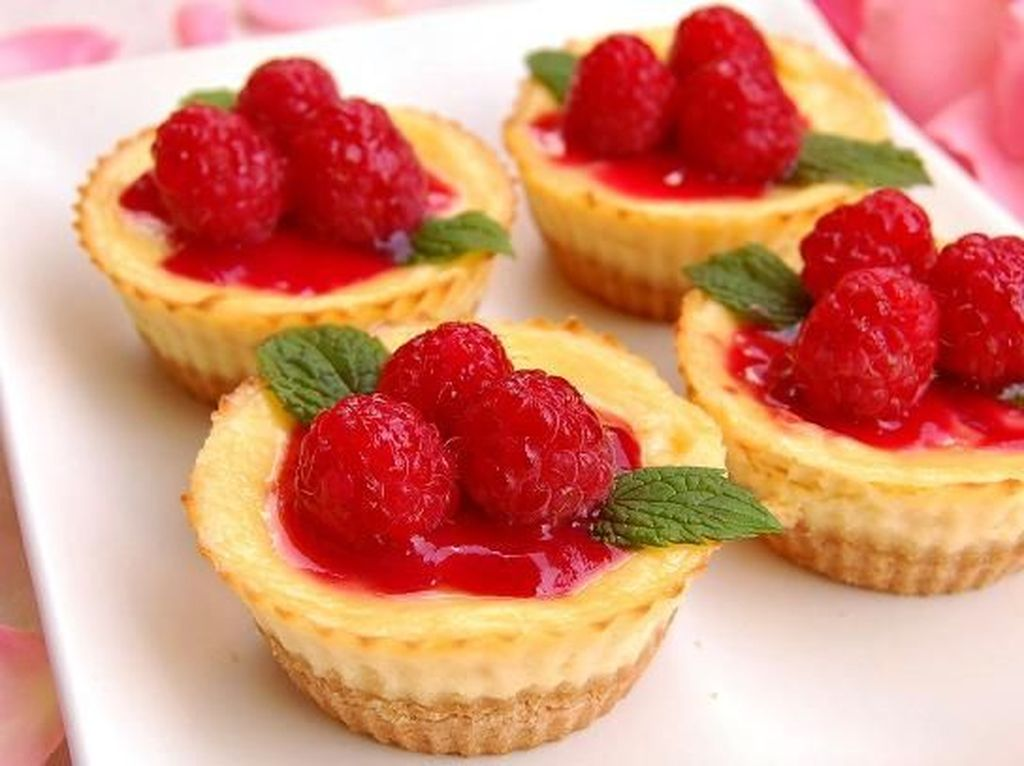 Bikin Sendiri Mini Cheesecake Hingga Kroket Mozarella