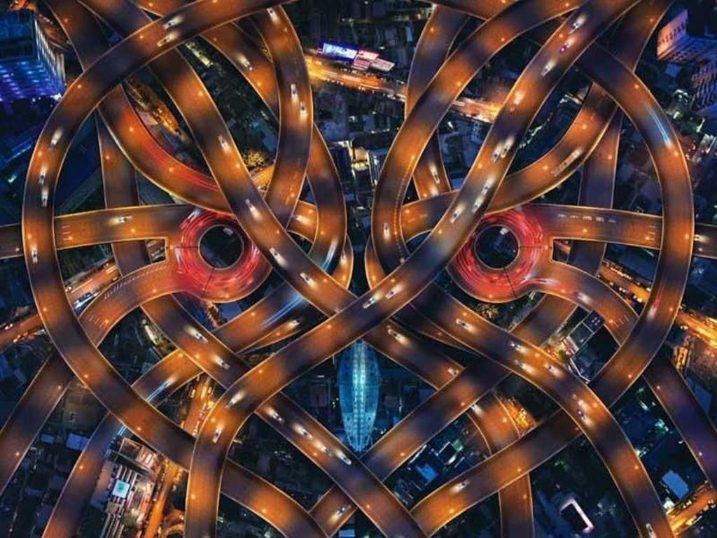 10 Foto Drone yang Kece dan Inspiratif 2018