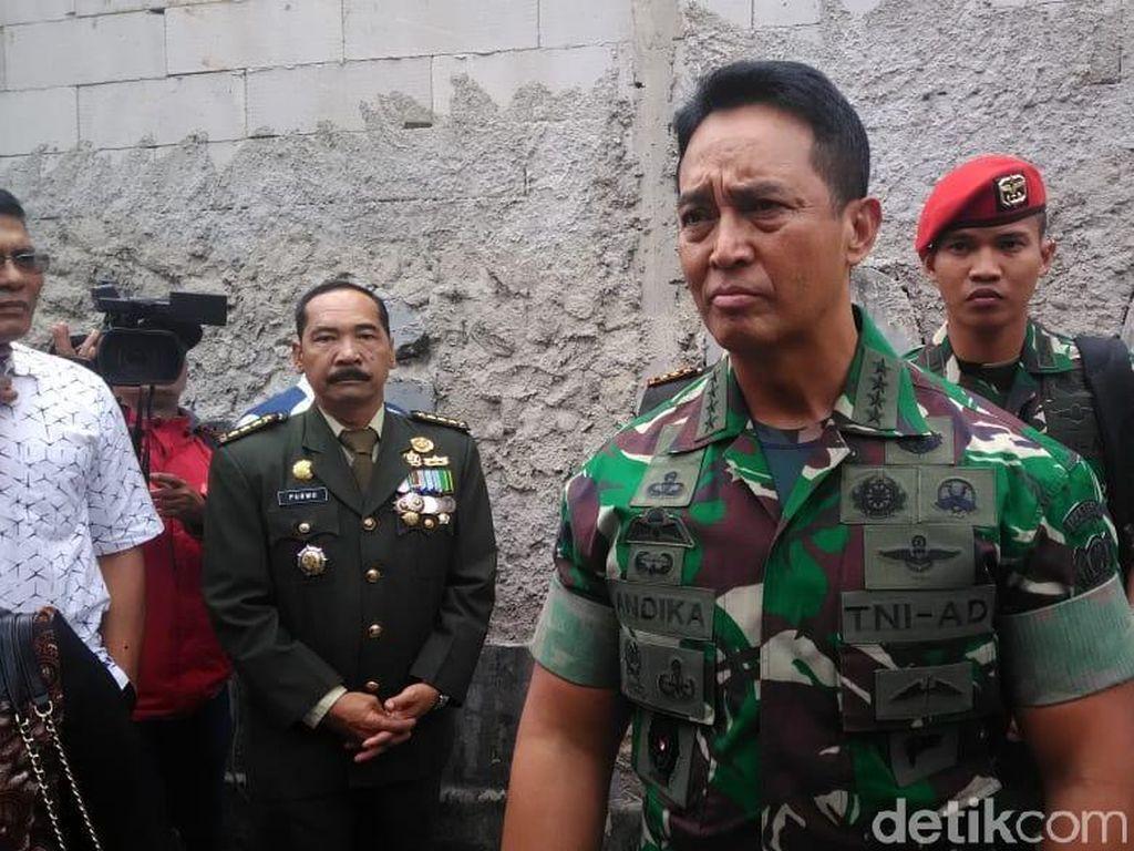 Jenazah Letkol Dono Sudah di Rumah Duka, Jenderal Andika Melayat