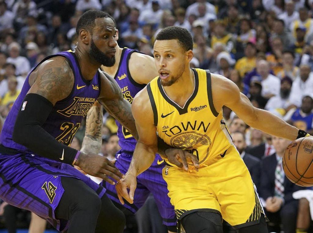 Hasil NBA: Meski LeBron Cedera, Lakers Bisa Kalahkan Warriors