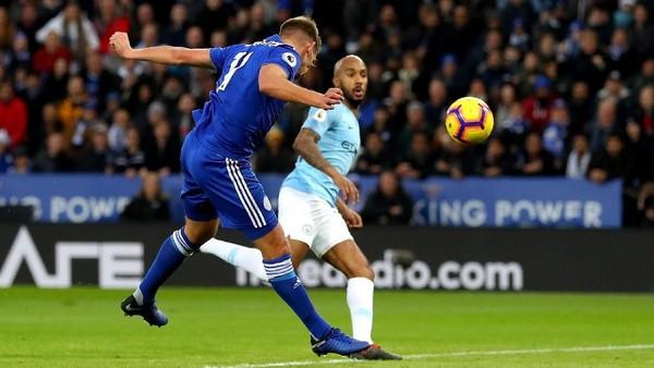 Leicester Tahan City 1-1 di Babak Pertama