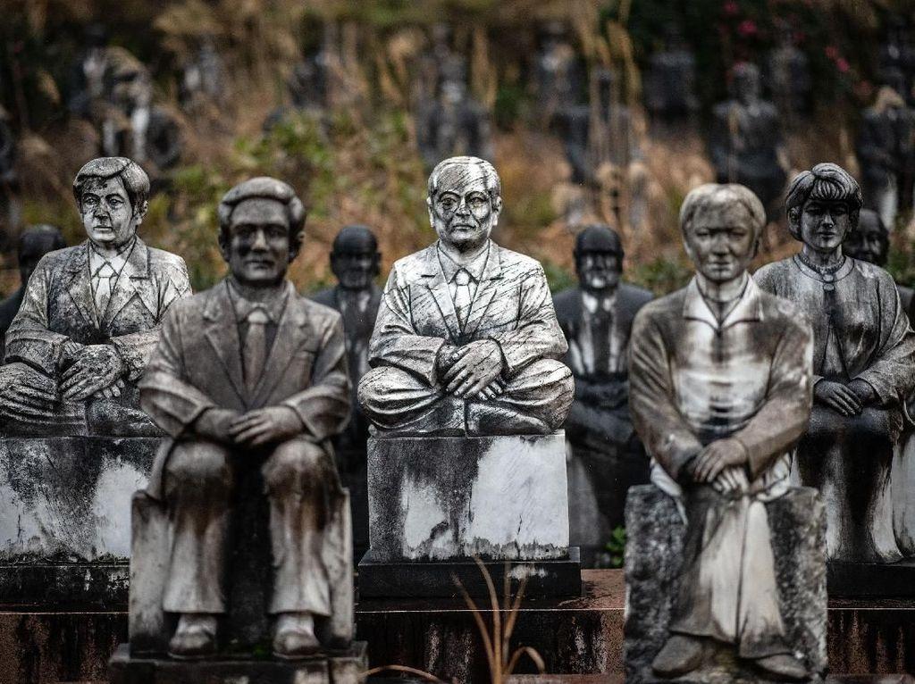 Misteri Ratusan Patung Horor di Taman Milik Mutsuo Furukawa