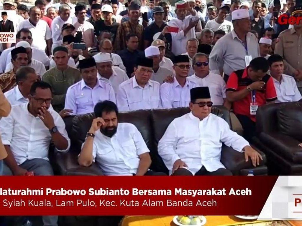 Cerita Prabowo soal Eks Panglima GAM: Dulu Kejar-kejaran, Sekarang Sahabat