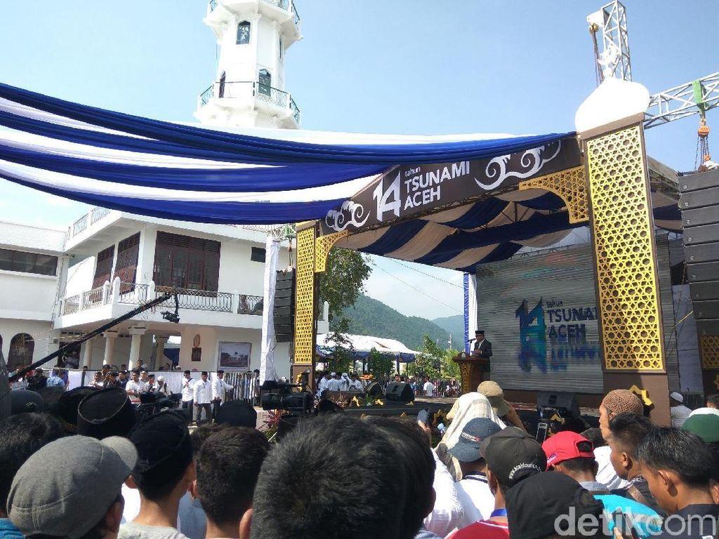 Peringati 14 Tahun Tsunami Aceh, Gubernur: Kita Harus Terus Bangkit