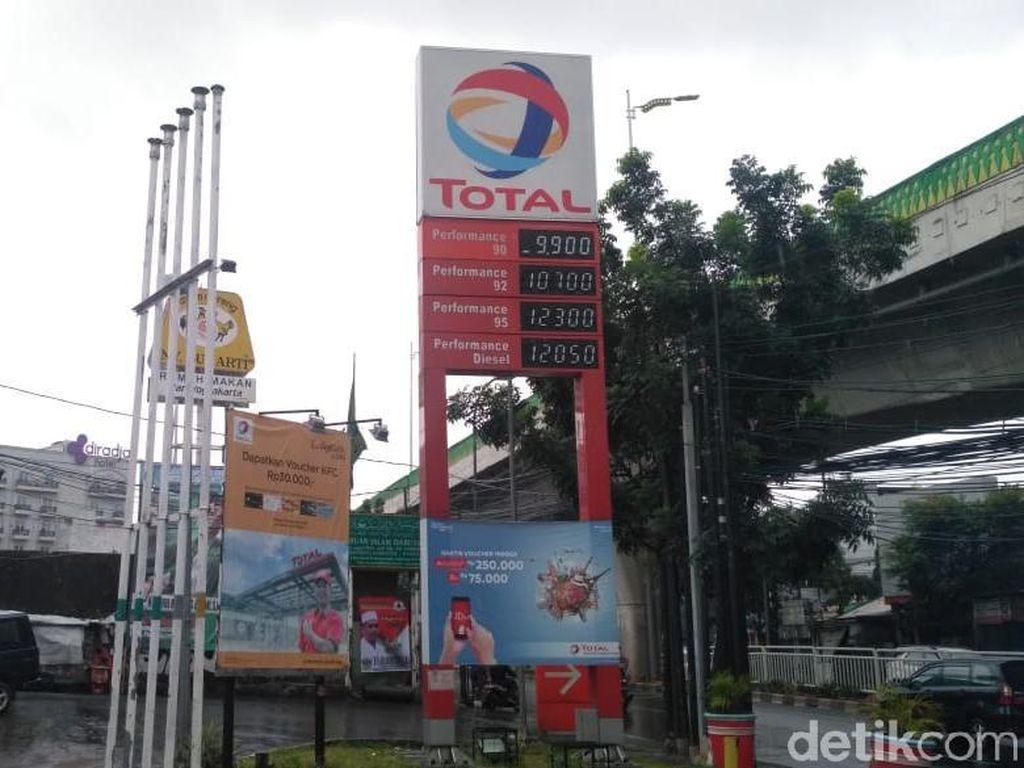 Awal 2020, Total dan Shell Turunkan Harga BBM
