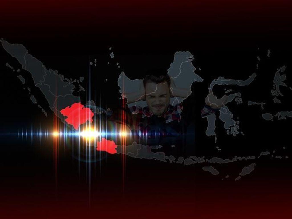 PVMBG: Dentuman di Jakarta Tak Berkaitan dengan Aktivitas Gunung Api