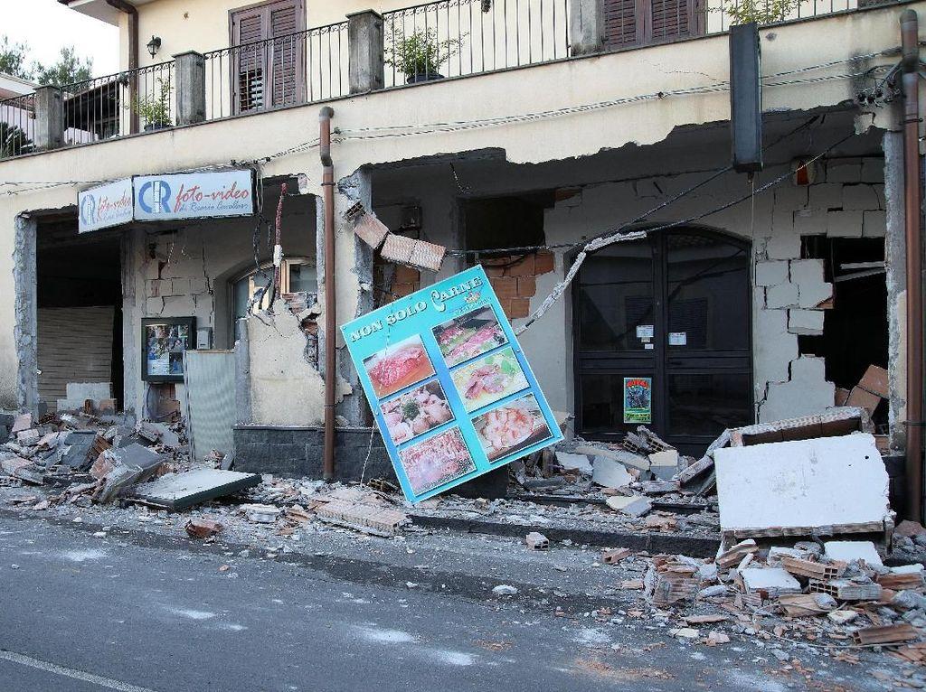 Gempa M 4,8 Guncang Sisilia Italia, 30 Orang Terluka