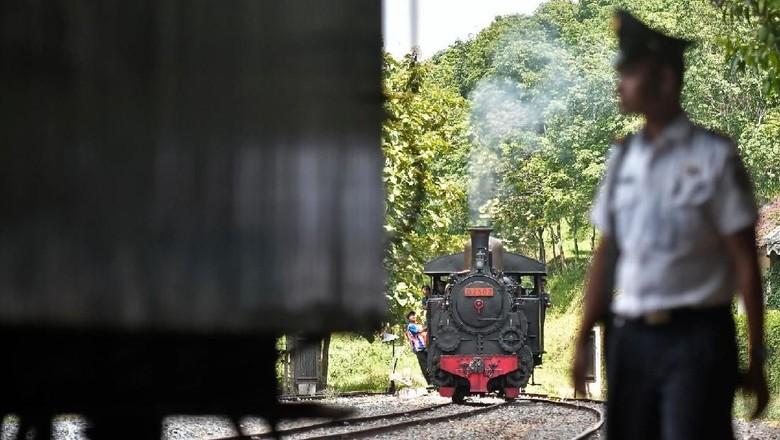 Museum Kereta Api Ambarawa. Foto: Antara Foto/Fanny Octavianus
