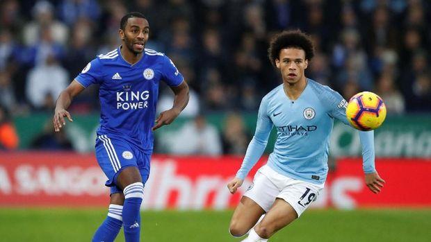 Manchester City kalah 1-2 dari Leicester City pada laga Boxing Day Liga Primer Inggris. (