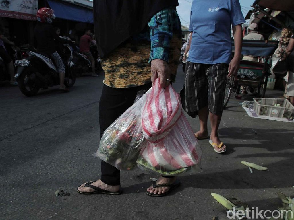 Larangan Kantong Plastik di Mal-Pasar Jakarta Berlaku Mulai Hari Ini