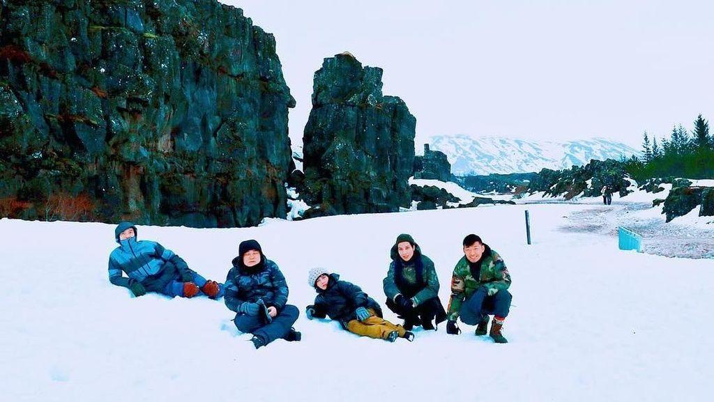 Foto: Putri Raja Judi Hong Kong Kepicut Indahnya Islandia