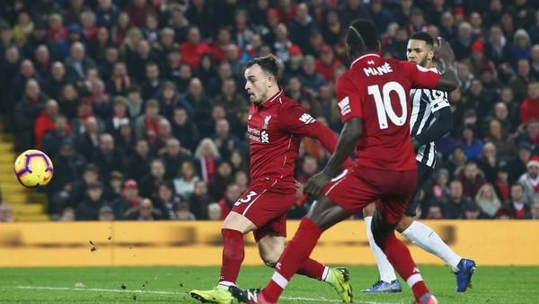 Hasil Liga Inggris: Liverpool Libas Newcastle 4-0