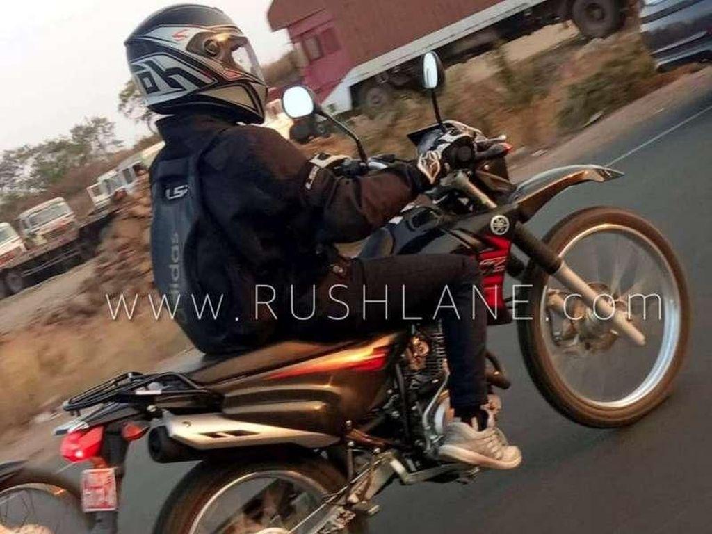 Motor Trail Entry Level Yamaha Tertangkap Kamera