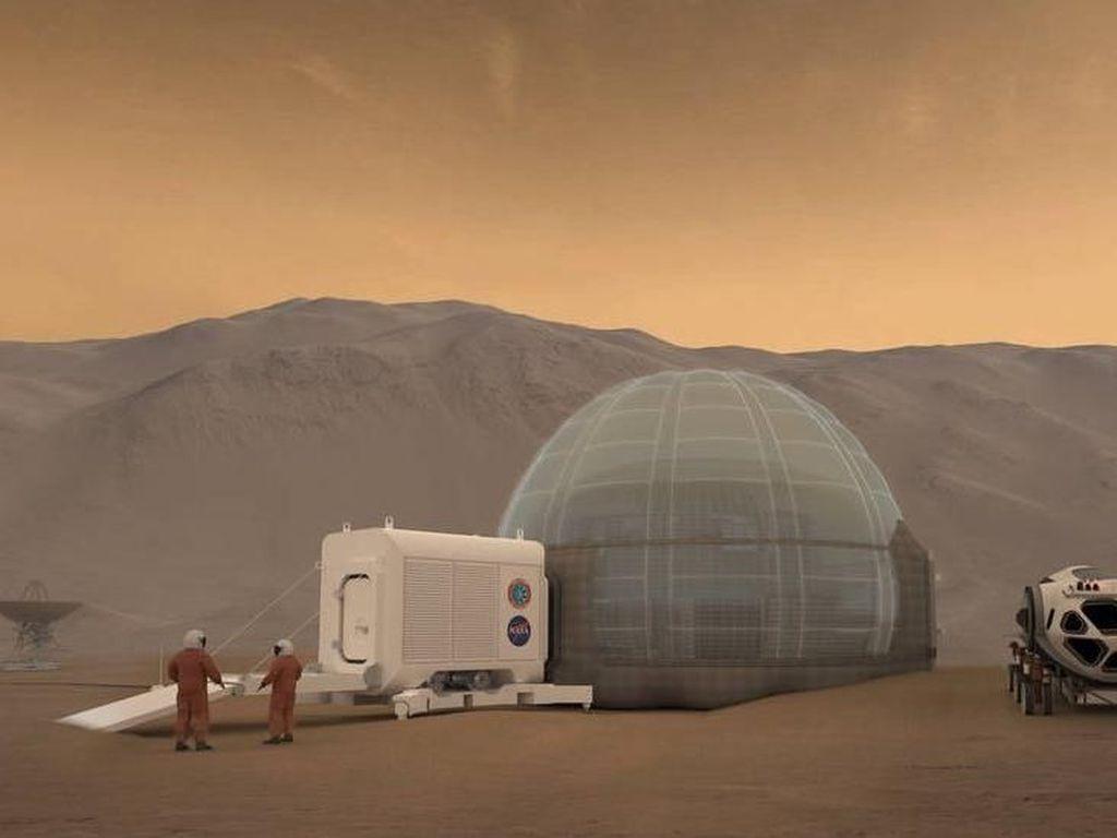 Psikologi Jadi Tantangan Terbesar Manusia Pergi ke Mars