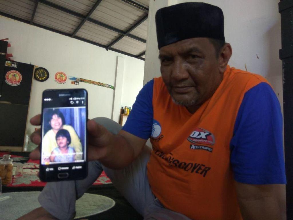 14 Tahun Menanti, Taufik Akhirnya Temukan Jasad Istri Korban Tsunami Aceh