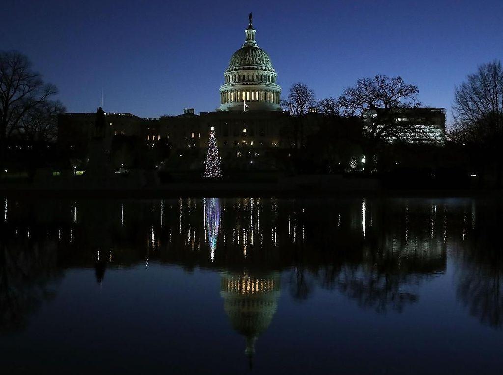 Potret Sepinya Gedung Putih Kala Pemerintah Amerika Tutup!