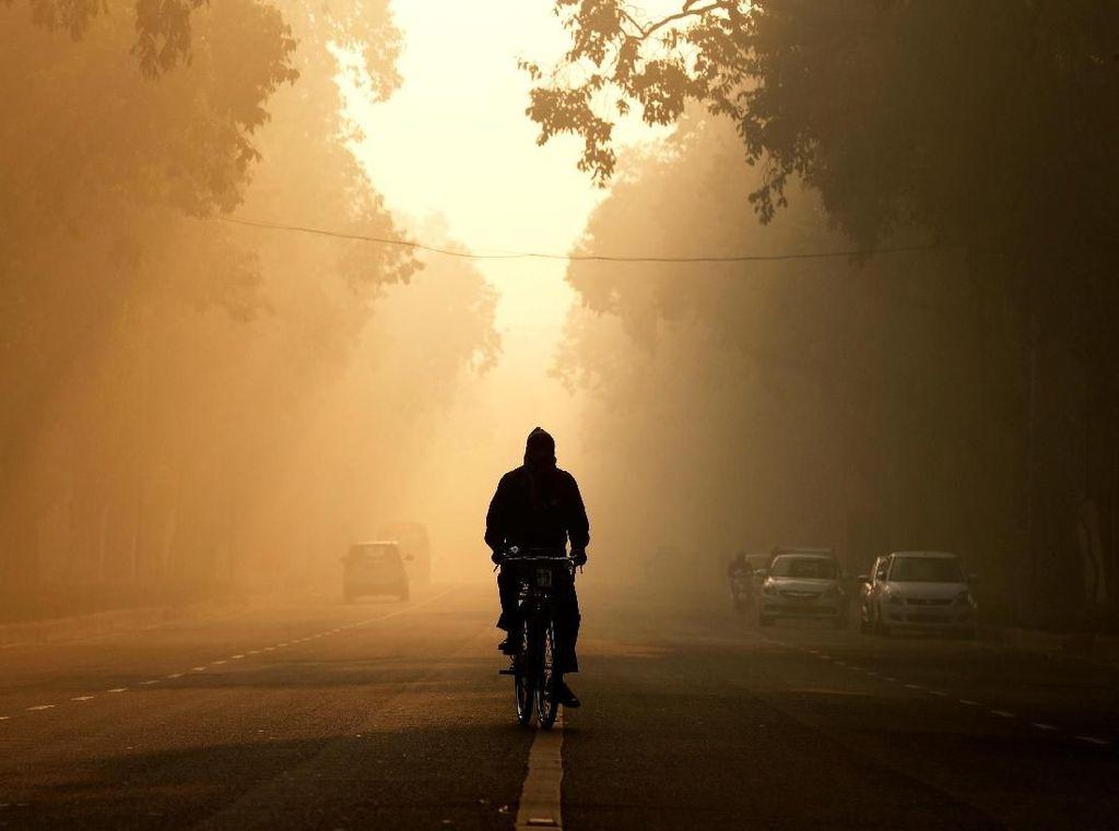 Penampakan Darurat Polusi Udara di India
