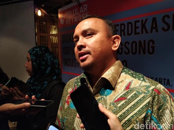 Direktur Utama Bakti Anang Latif. Foto: Agus Tri Haryanto/detikINET