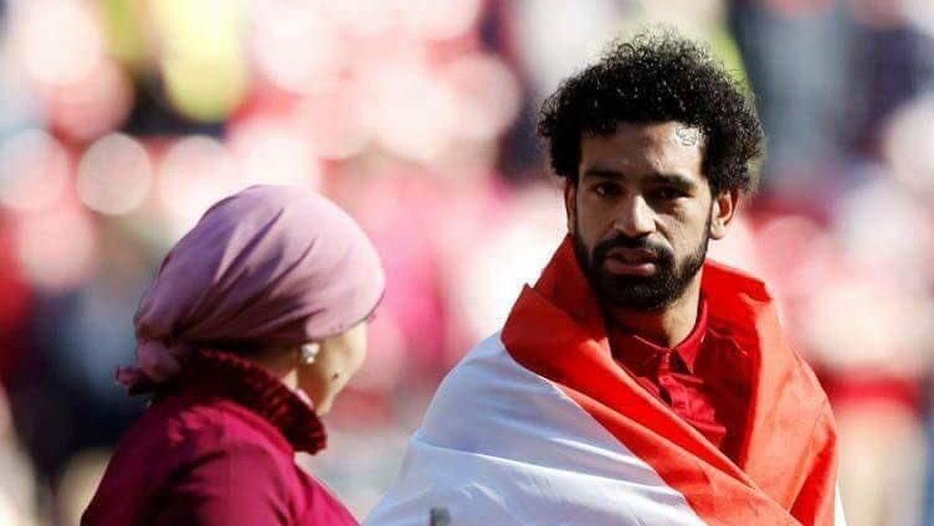 Gaya Hijab Istri Bintang Liverpool Mohamed Salah yang Jarang Eksis