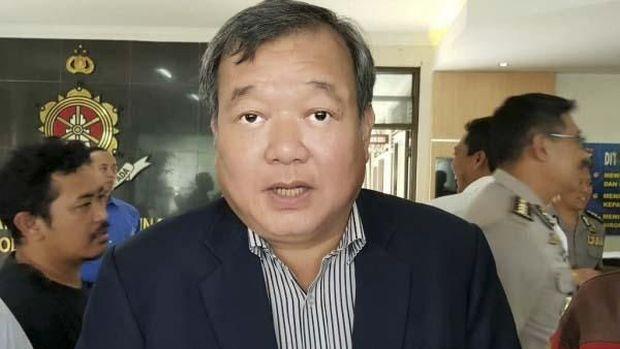 Johar Lin Eng ditangkap polisi sebagai salah satu tersangka kasus suap pengaturan skor. (
